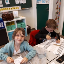 Timmeren eerste leerjaar (4)