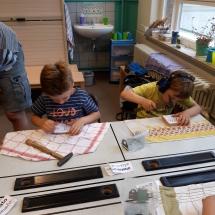 Timmeren eerste leerjaar (9)